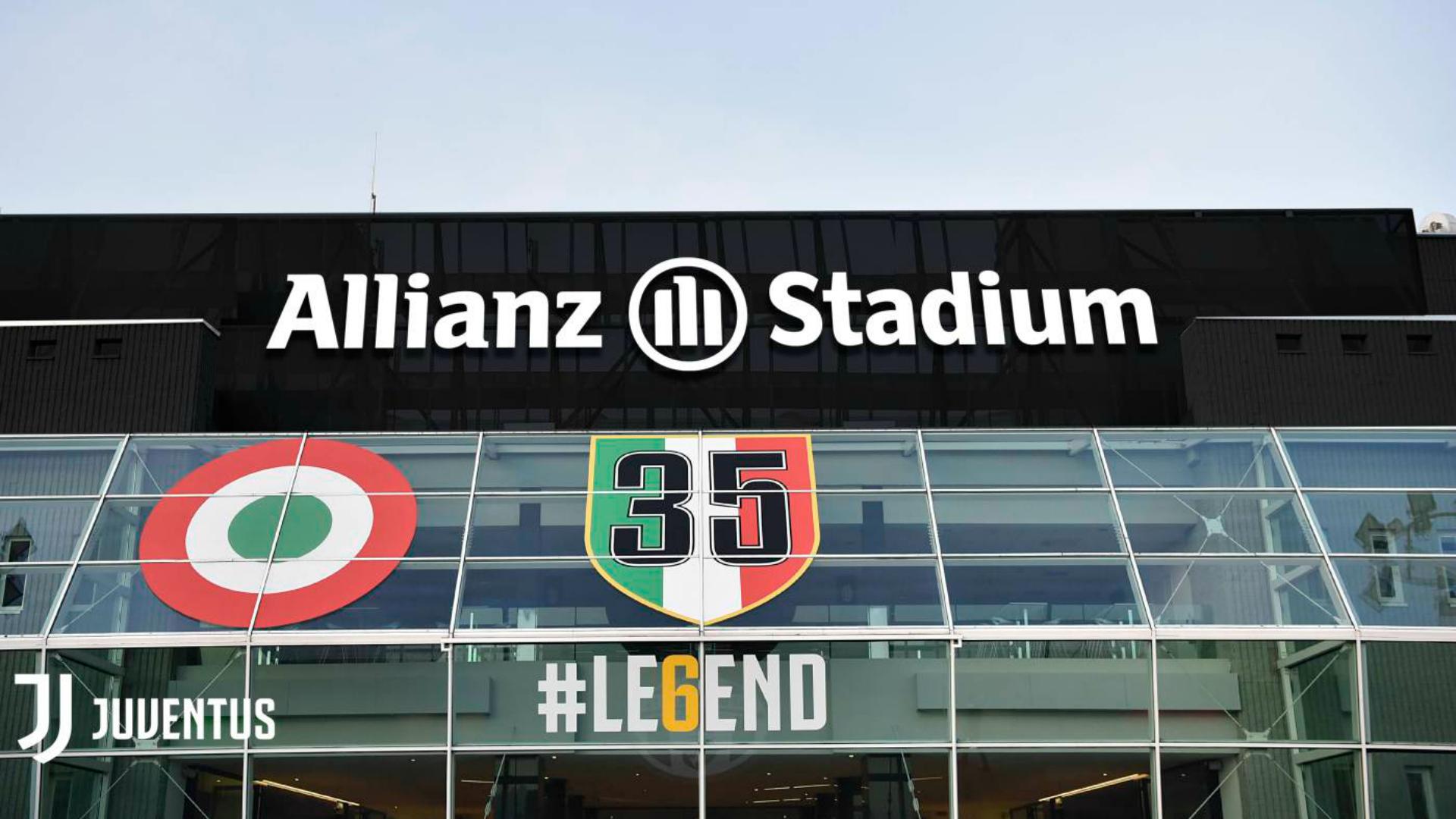 Le stade change de nom — Juve