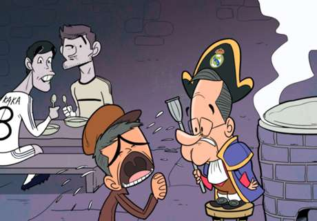 CARTOON: Mou begs for Madrid exit