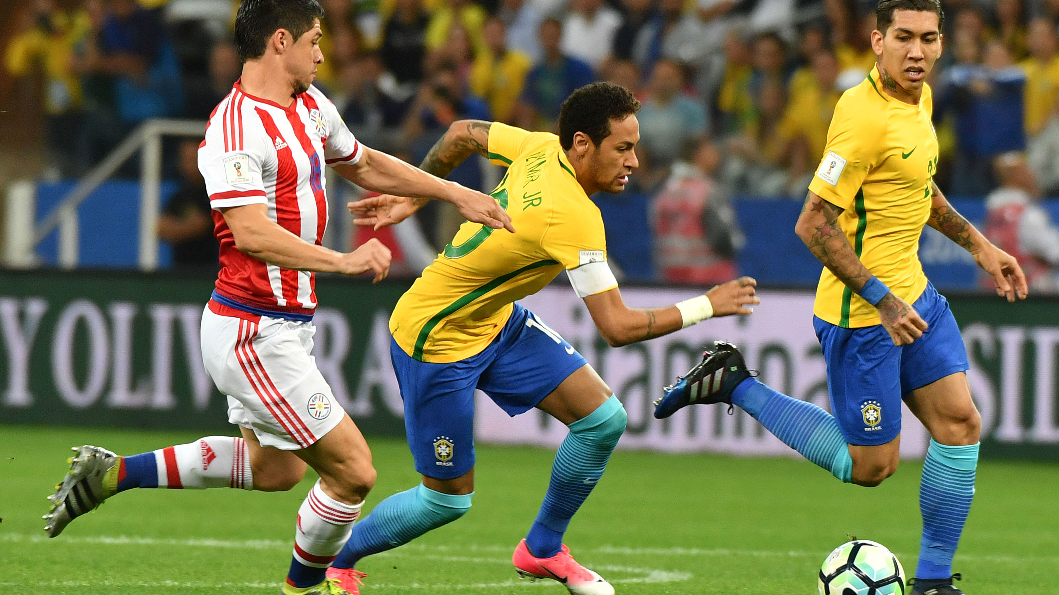 Neymar Brazil Paraguay