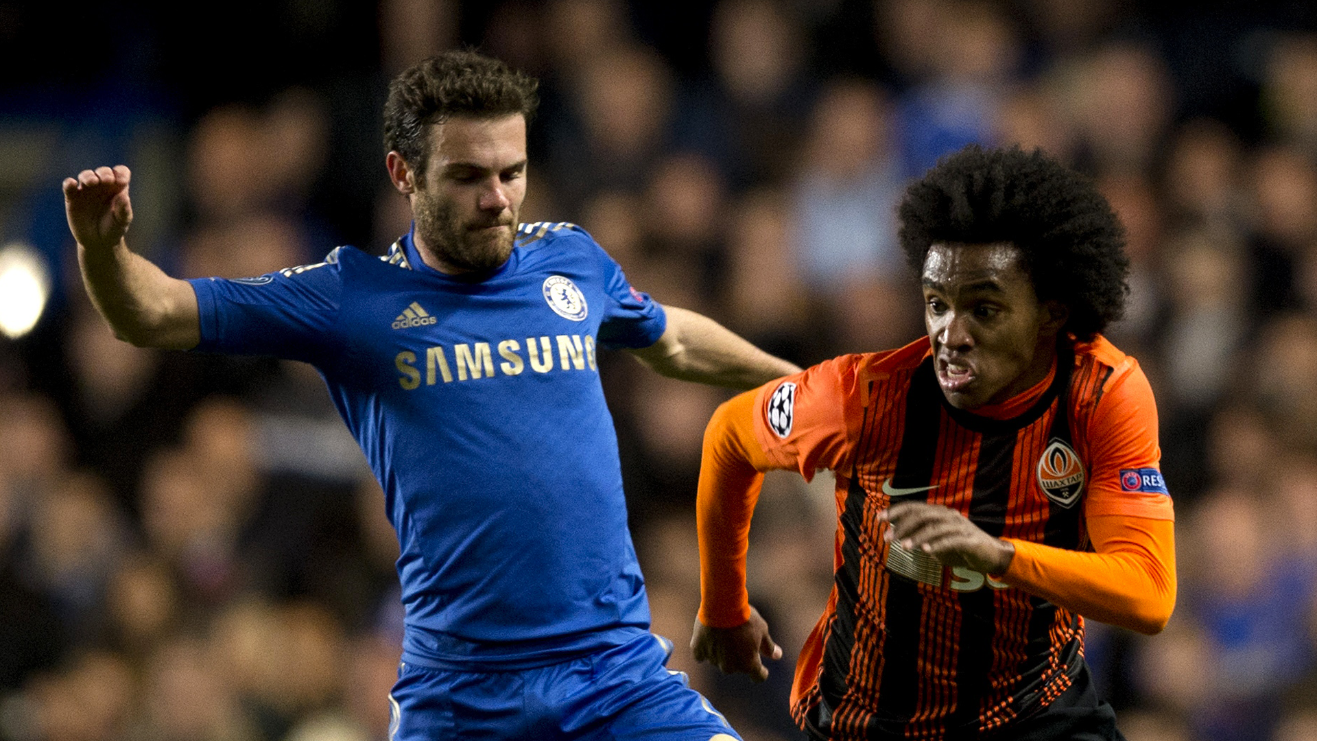Juan Mata-Willian