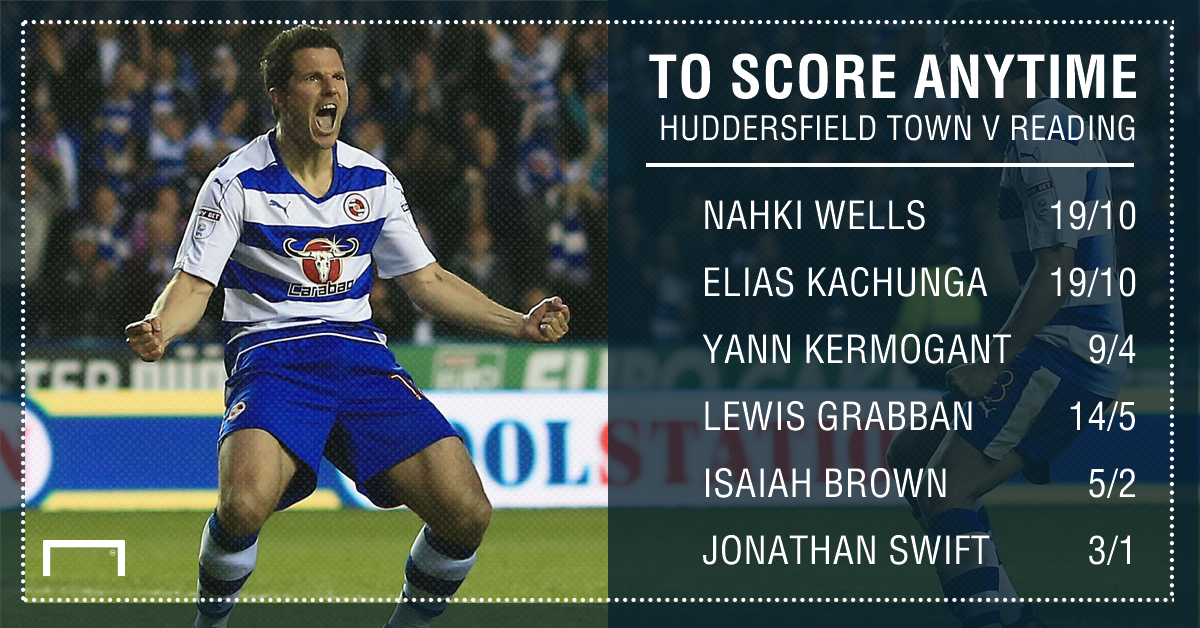 GFX Huddersfield Town Reading scorer betting