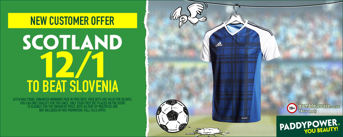 GFX Scotland Slovenia enhanced betting