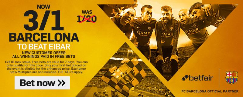 GFX Barcelona Eibar enhanced betting
