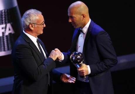Zidane Raih Penghargaan Pelatih Terbaik FIFA