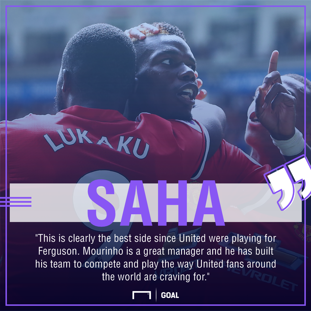 Louis Saha Manchester United best since Ferguson