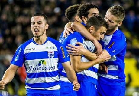 PEC Zwolle klimt naar de tweede plaats
