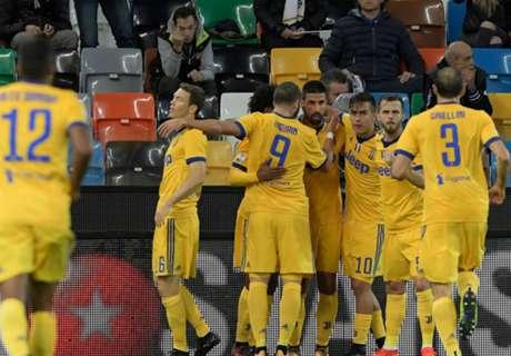 Tre volte Khedira, set Juve: 2-6 a Udine