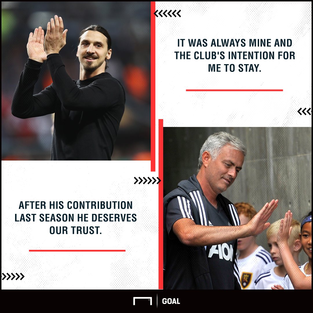 Zlatan Ibrahimovic quote Jose Mourinho