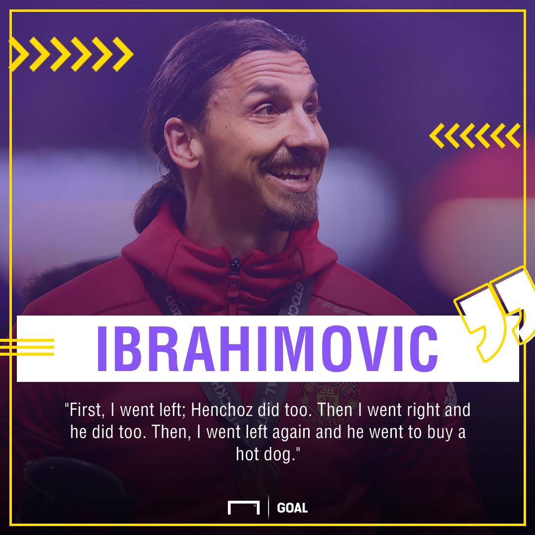 Zlatan Ibrahimovic hot dog PS