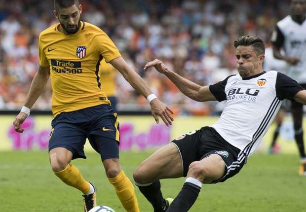 Valencia versus Atletico Madrid