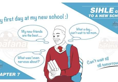 #WeAreYoungBafana: Sihle goes to a new school