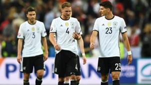 Benedikt Howedes Mario Gomez Germany European Championship 16062016