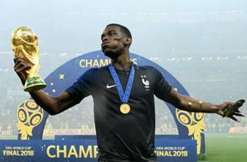 EXTRA TIME: Didier Drogba meet up with World Cup winner Paul Pogba