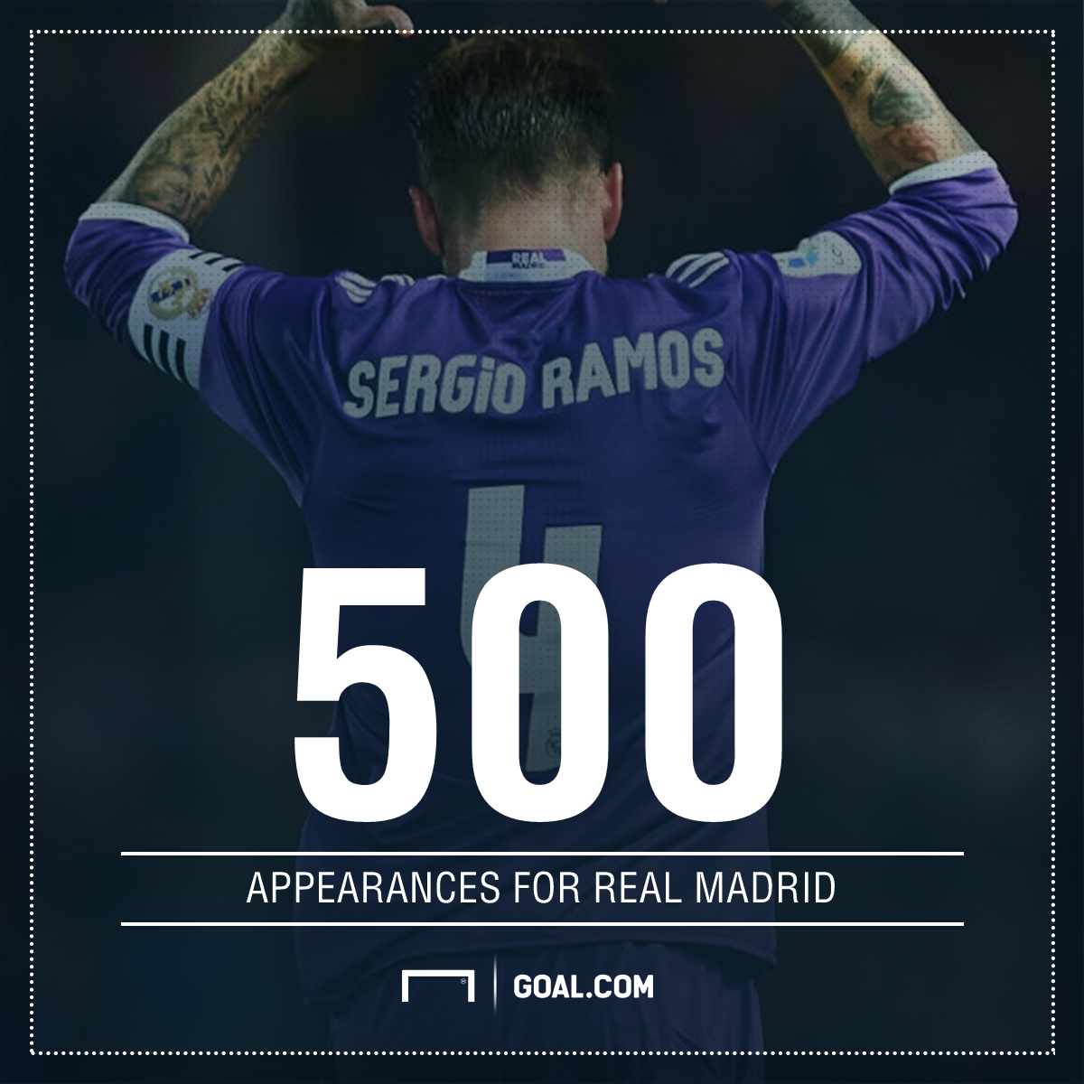 GFX Ramos Madrid appearances