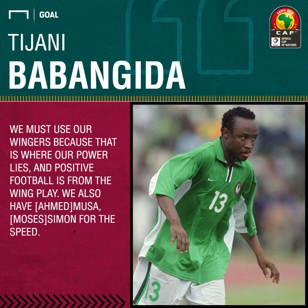 Afcon 2019: Nigeria must use the speed of Musa and Simon against Bafana Bafana – Babangida
