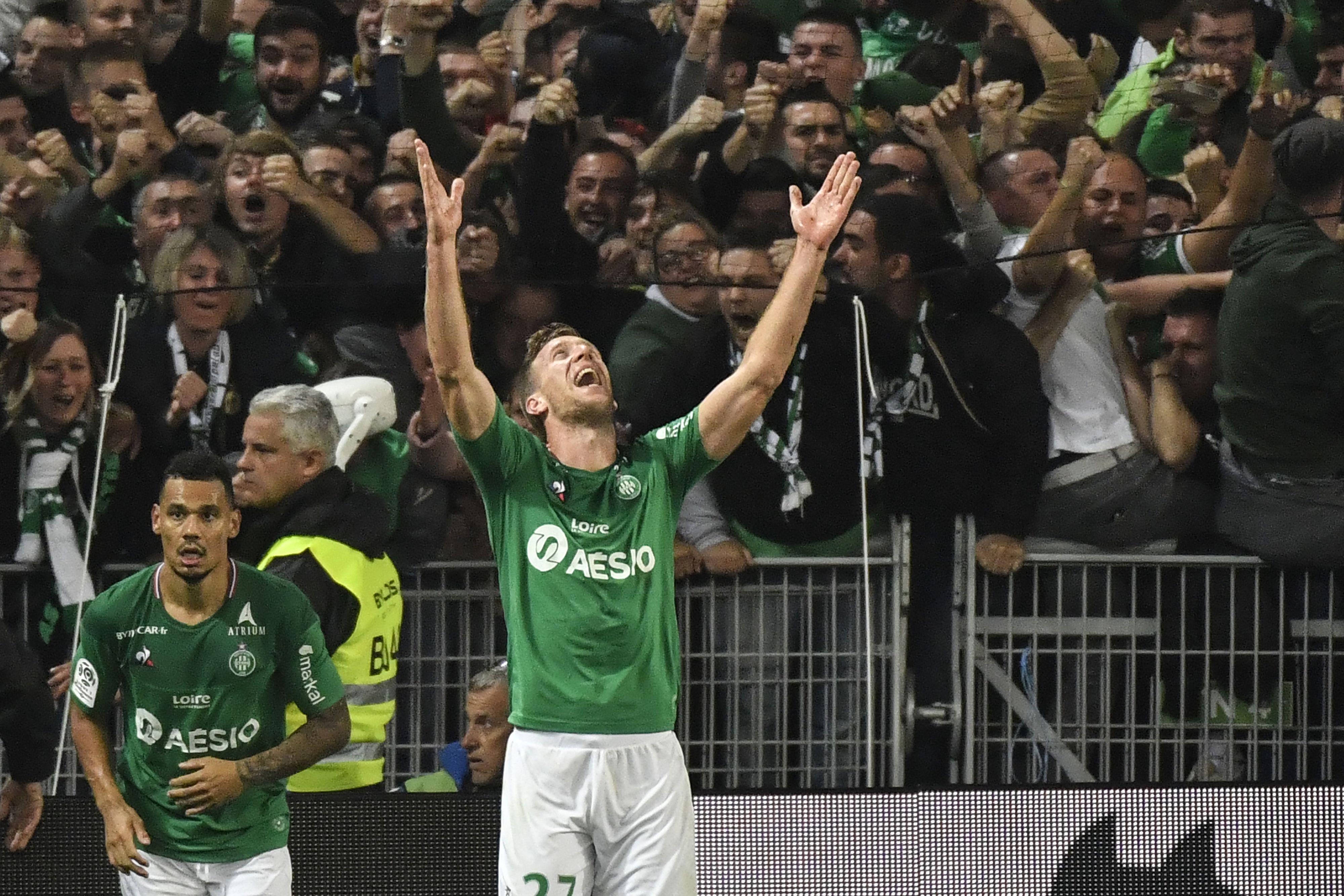 Saint-Etienne - Lyon (1-0), Beric libère les Verts dans le derby !