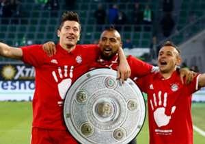 Após golear o Wolfsburg por 6 a 0, o Bayern garantiu o seu 27º título alemão. Relembre os principais momentos desta conquista!