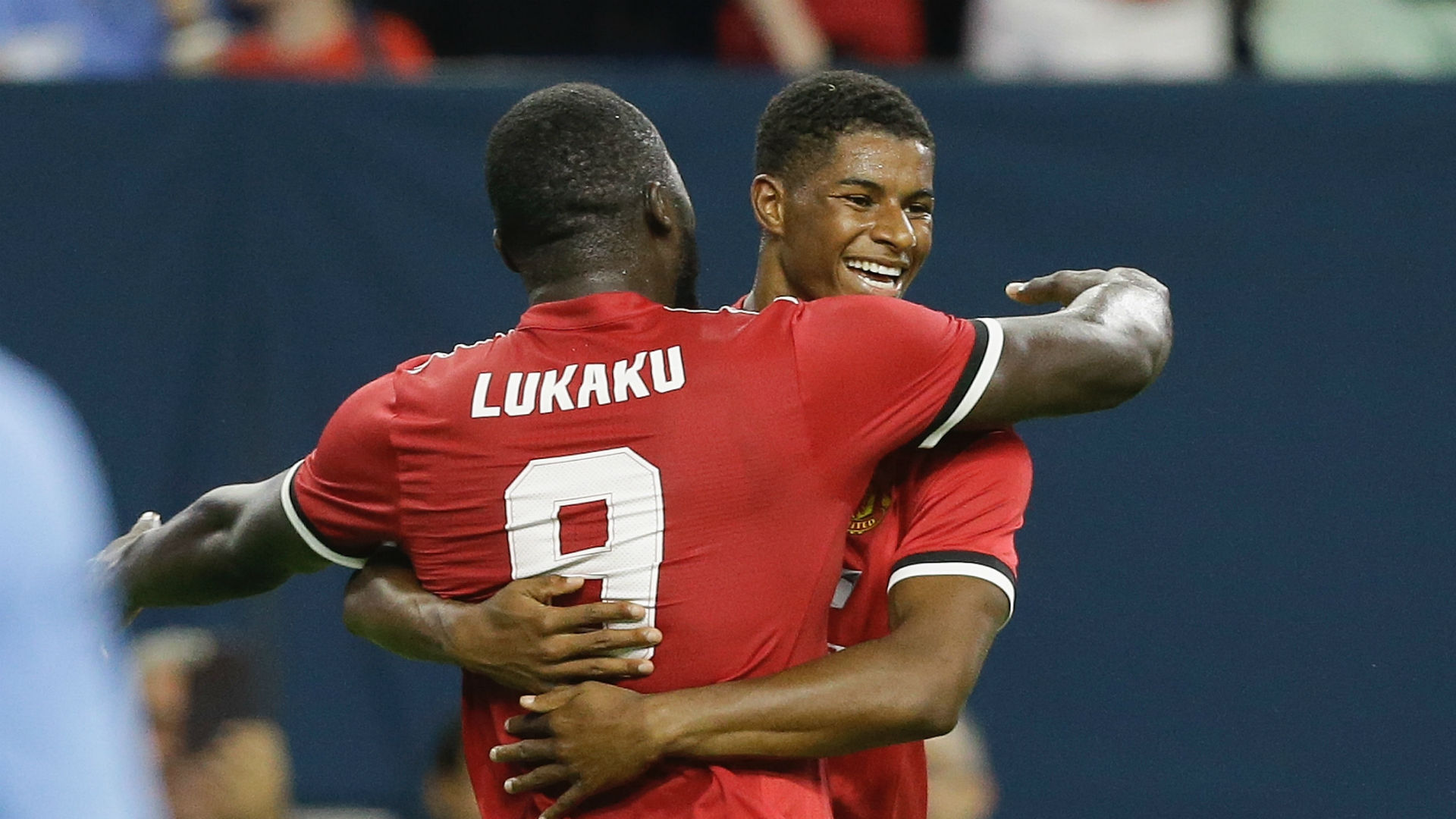 Marcus Rashford Romel Lukaku Manchester United ICC