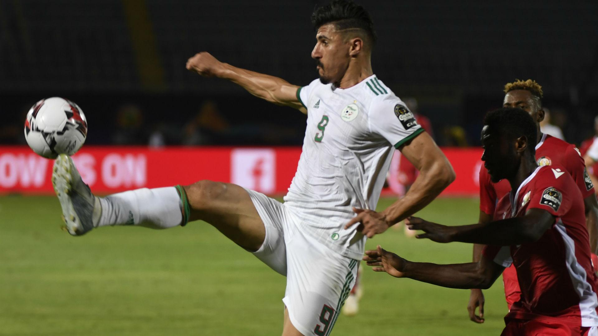 Algérie-Sénégal : Baghdad Bounedjah inscrit le but le plus rapide de la CAN 2019 en finale
