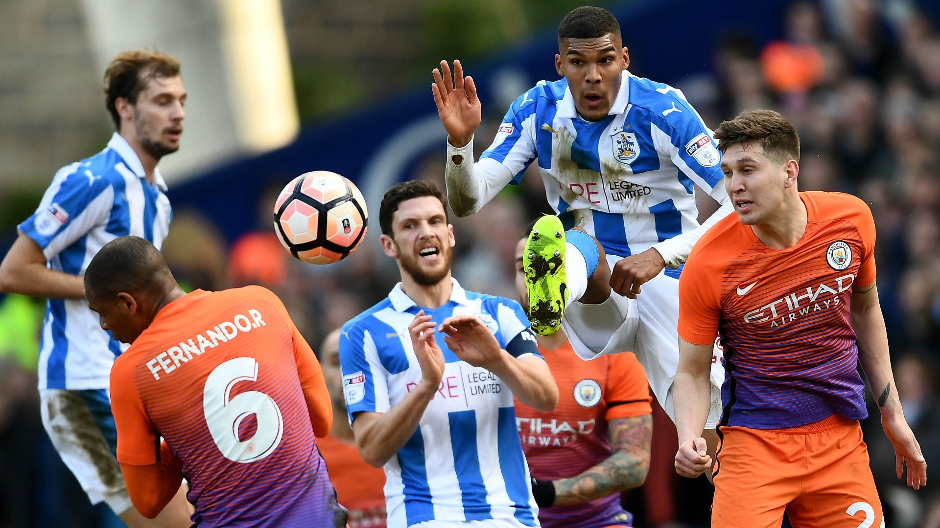 Huddersfield Manchester City FA Cup
