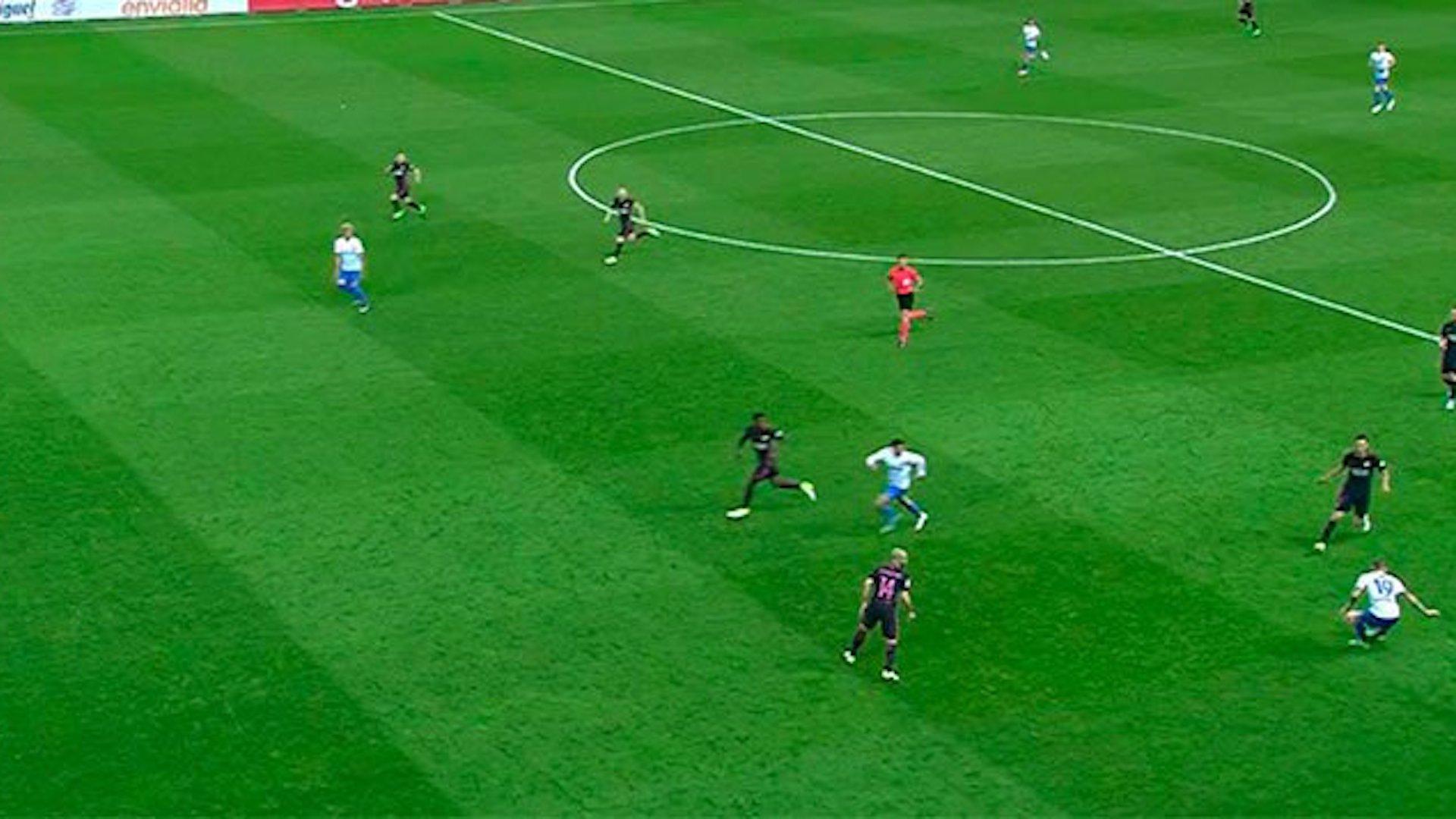 Se equiovocó el árbitro al anular el segundo gol del Málaga