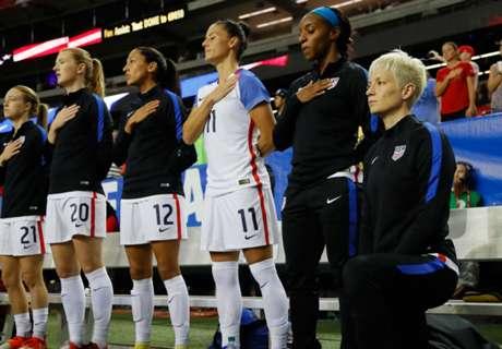 US Soccer bans kneeling during anthem