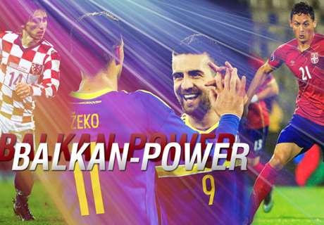 Balkan-Power live auf DAZN!