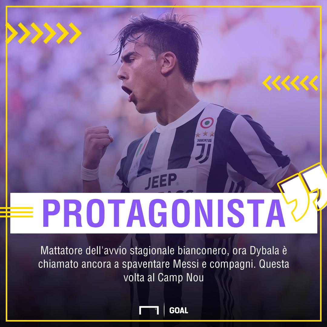 Dybala- Barcellona-Juventus