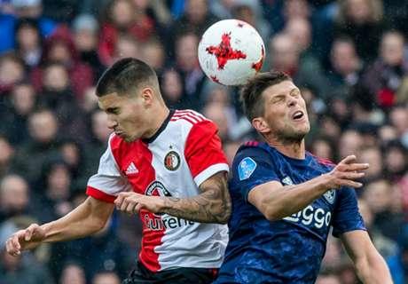 Ajax wint ruim van Feyenoord in harde Klassieker