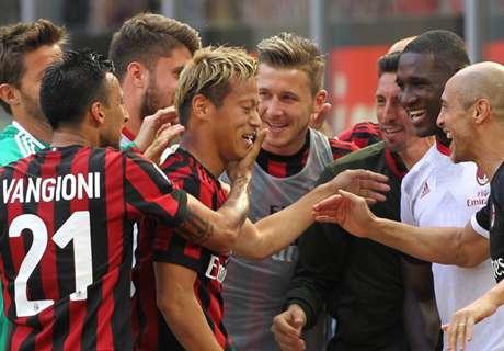 Le Milan AC en barrage pour l'Europa Ligue