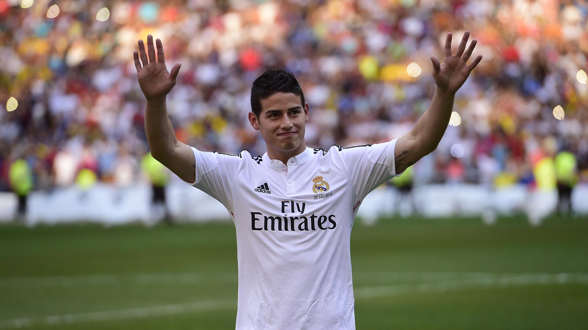 James Rodriguez et le Real Madrid vers la réconciliation ?