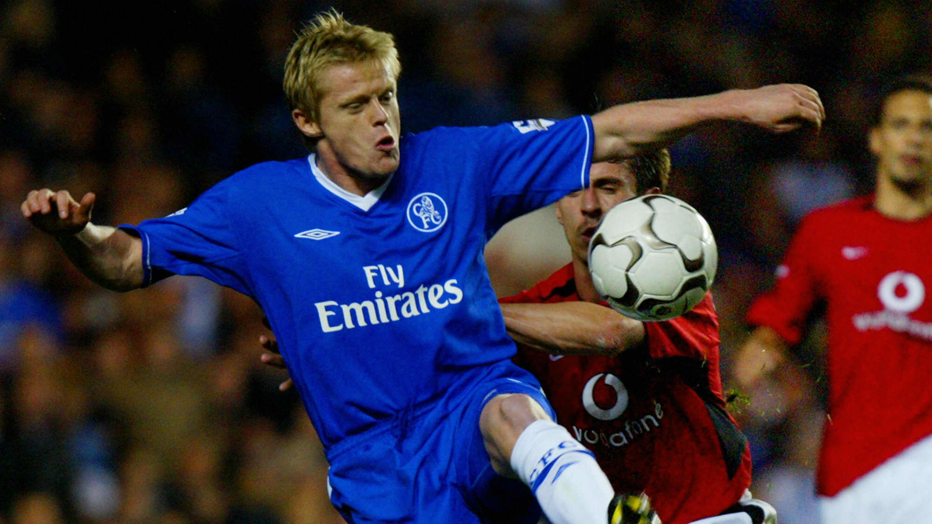 Damien Duff Chelsea Manchester United 30112013