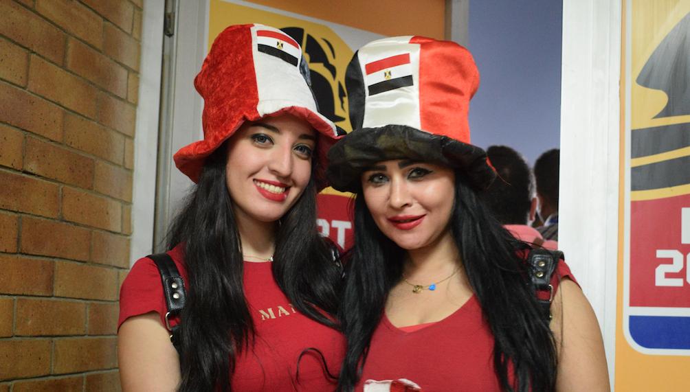 Egytian fans - by mahmoud maher