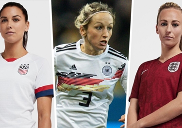 huge discount 1eb54 f7462 Women's World Cup 2019 kits: USWNT, England & all 24 team ...