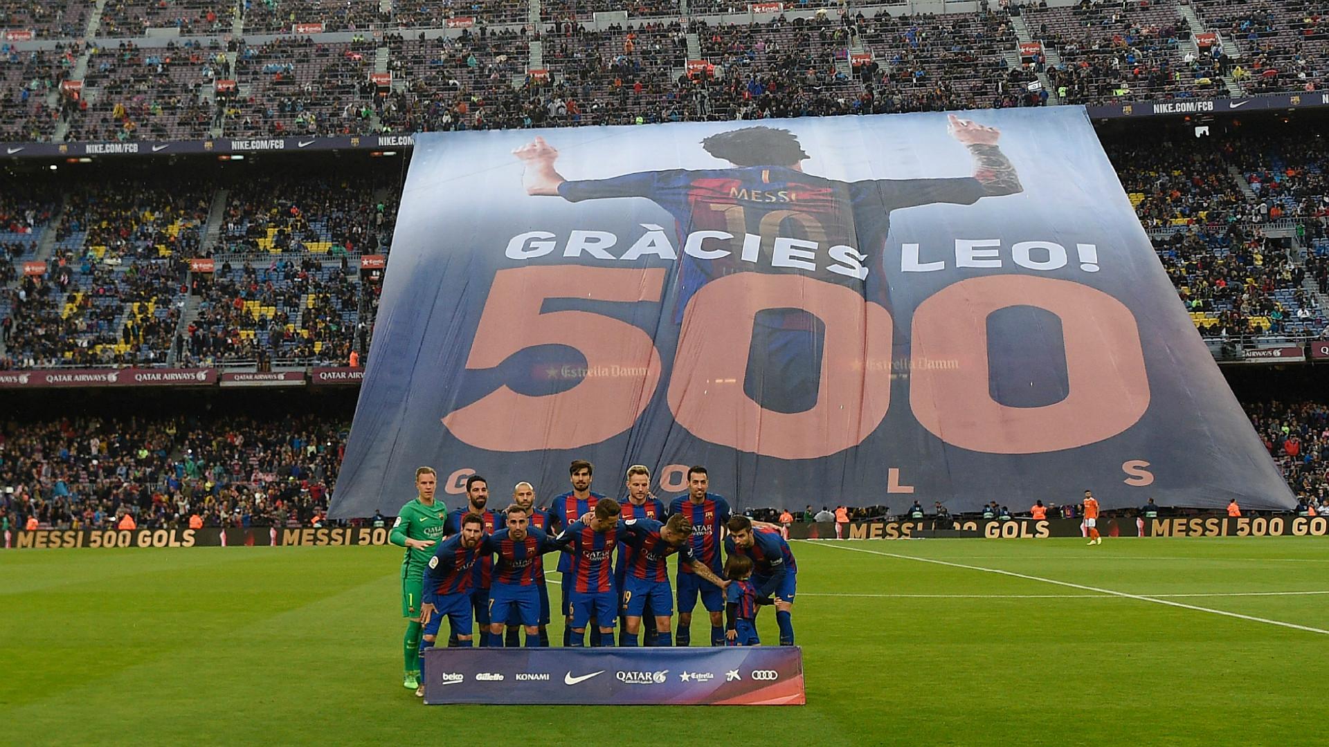 Premier but de Mascherano en 319 matchs — FC Barcelone