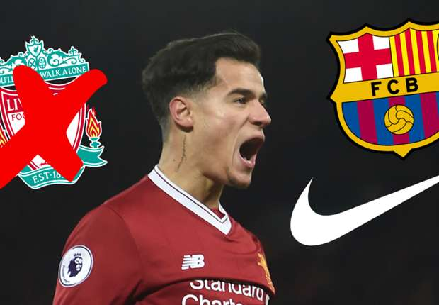194da569154 Coutinho transfer news  Did Nike leak Philippe Coutinho s move from ...