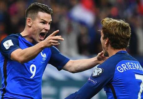 Griezmann, Giroud et les meilleures statistiques avant France-Espagne