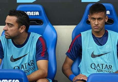 تشافي يعلن سبب نيمار للرحيل عن برشلونة