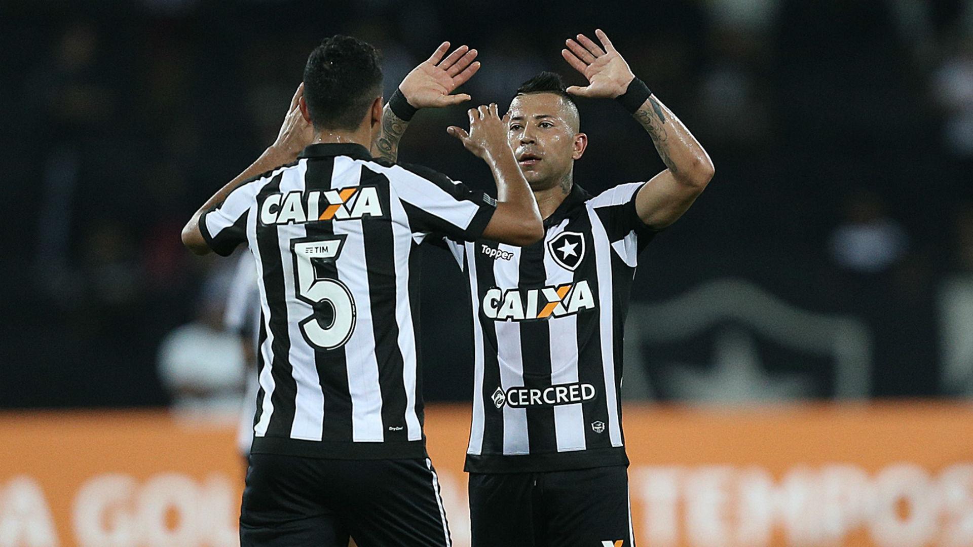 Lindoso Valencia Botafogo Santos Brasileirão 19 09 2017