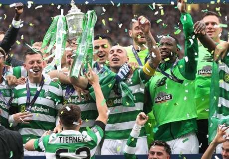 Celtic players chant for Kolo Toure