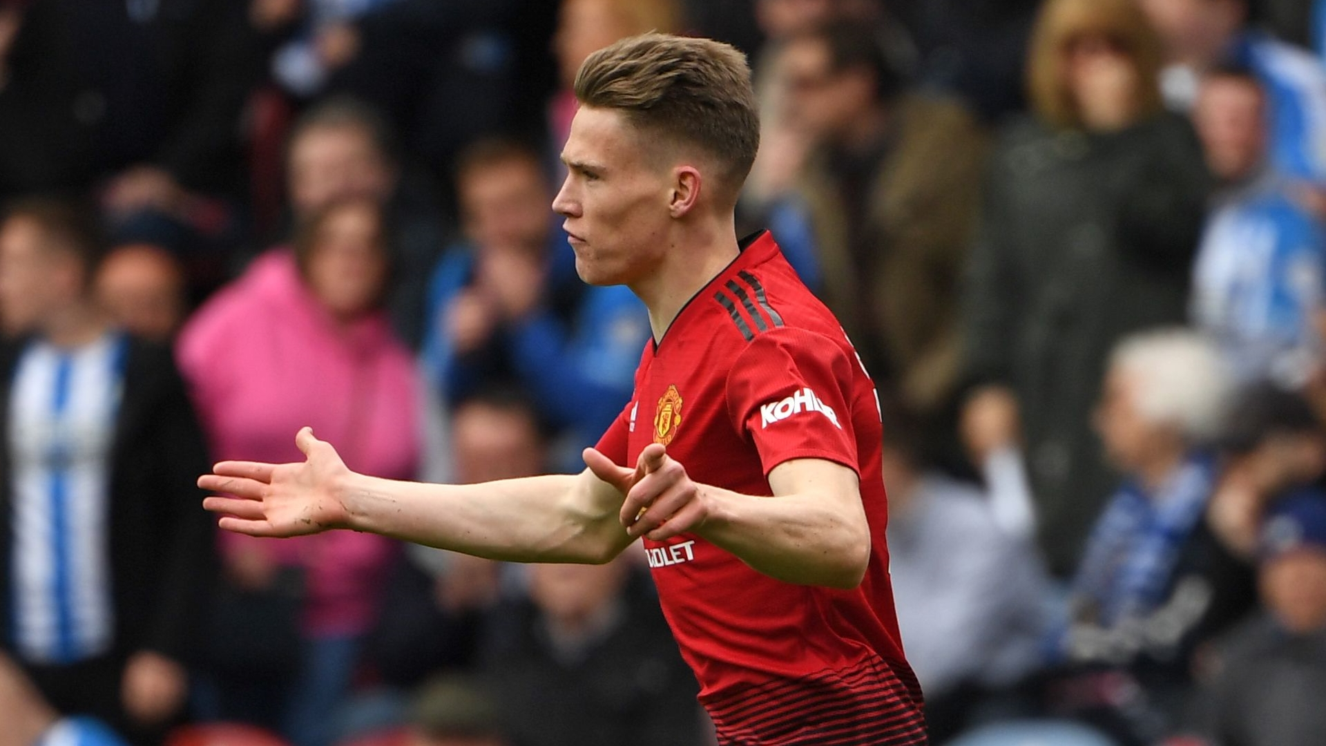 McTominay reveals ambition of becoming 'regular box-to-box player' for Man Utd