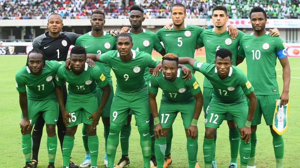 Nigeria unveil 2018 Fifa World Cup kits  96a846fe6