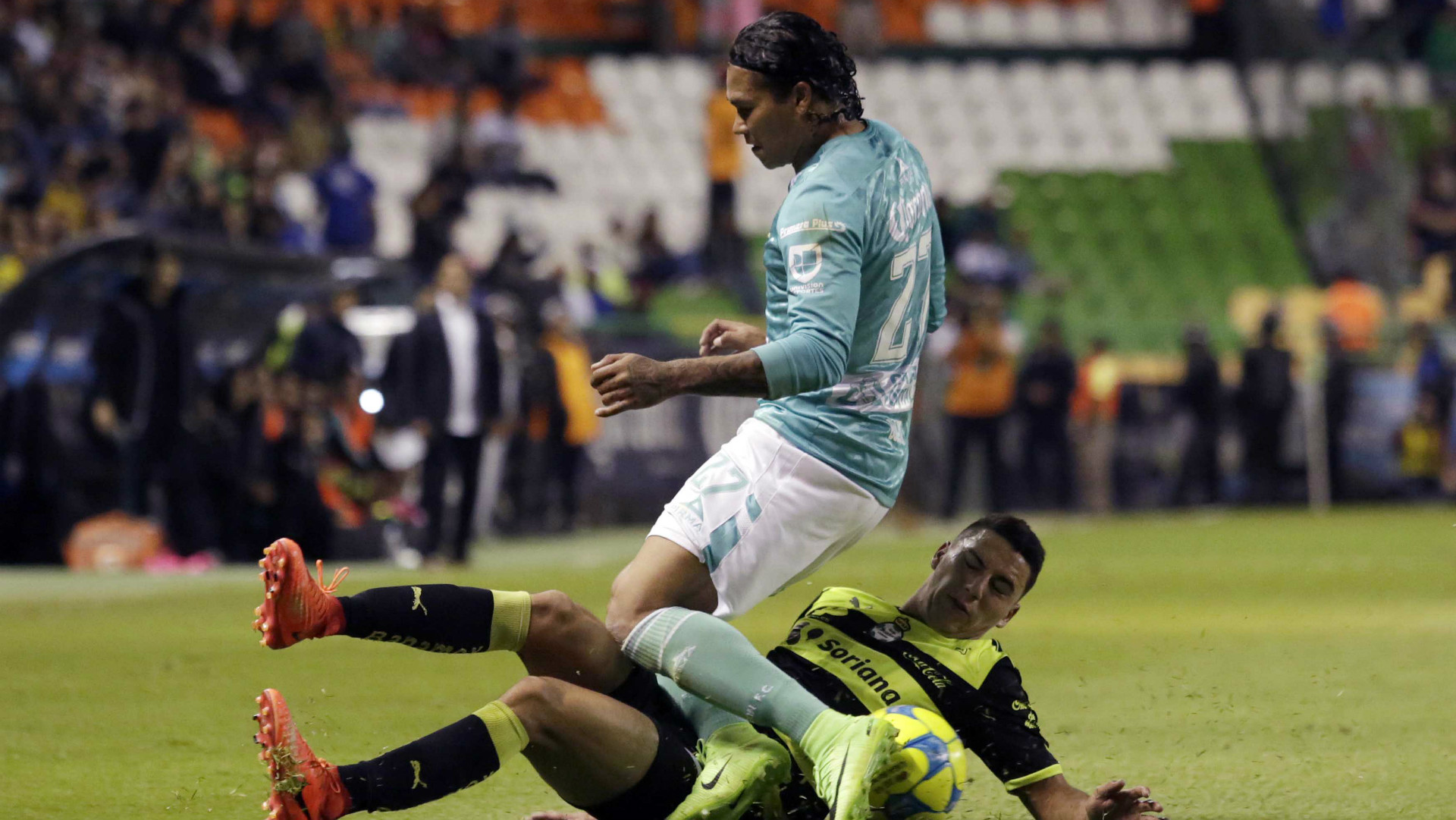 Jorge Sanchez Santos Laguna Carlos Gullit Pena Leon