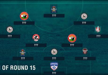 I-League Team of the Week: Round 15