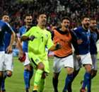 Italy draw Sweden, Ireland face Denmark