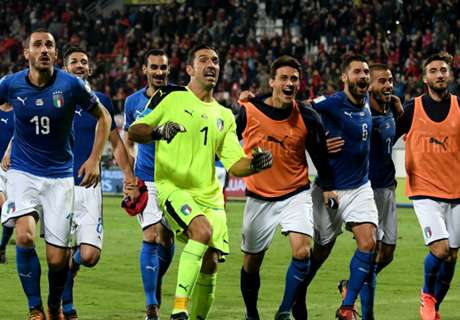 Italy draw Sweden, Ireland face Denmark