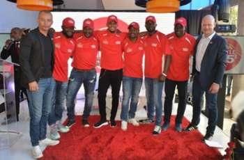 EXTRA TIME: South African football legends meet Samuel Etoó