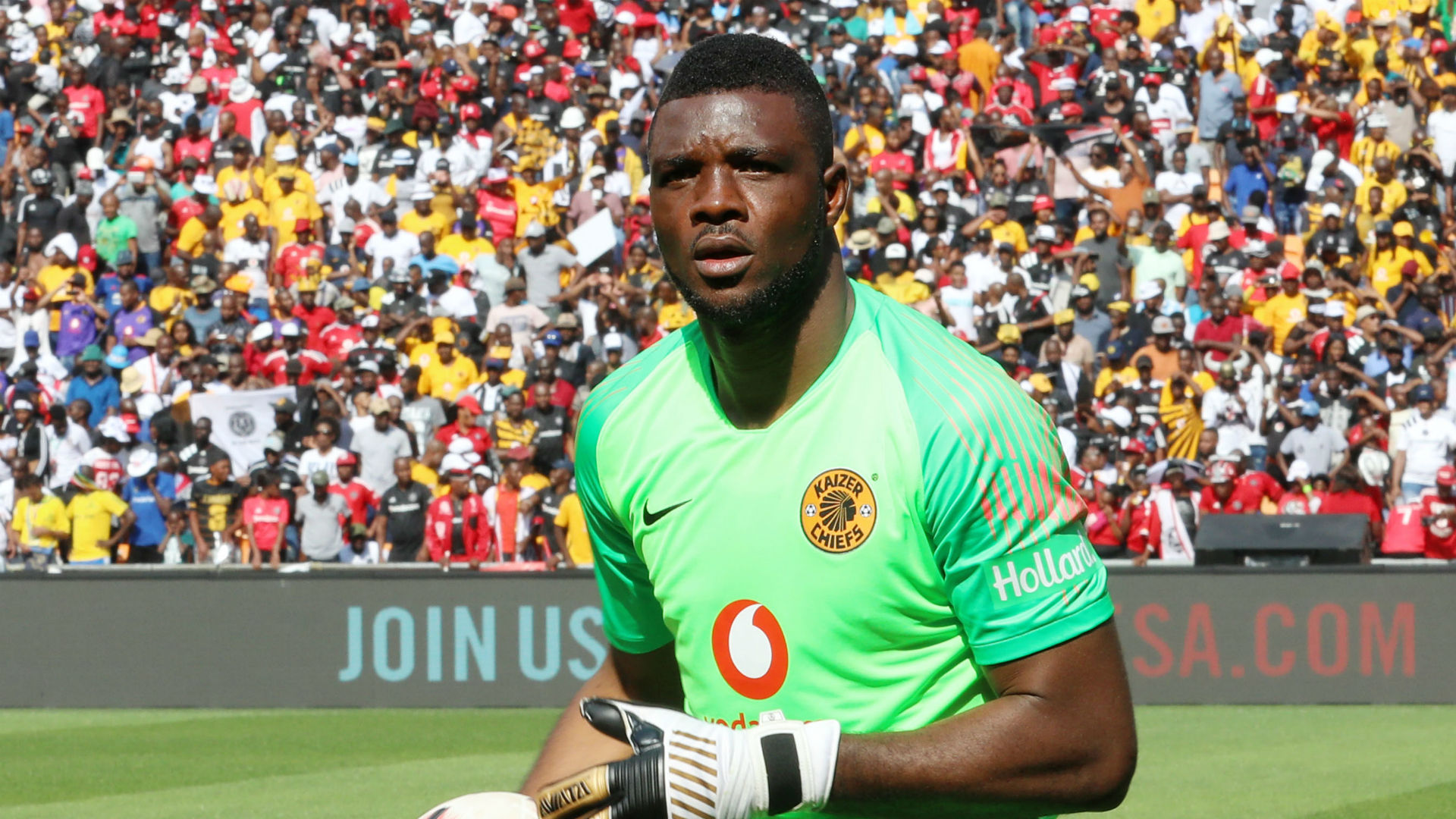 Afcon 2019: Nigeria unconcerned about Akpeyi's stats at Kaizer Chiefs - Okocha
