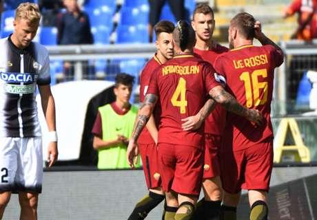 El Sha Cemerlang, Roma Pukul Udinese