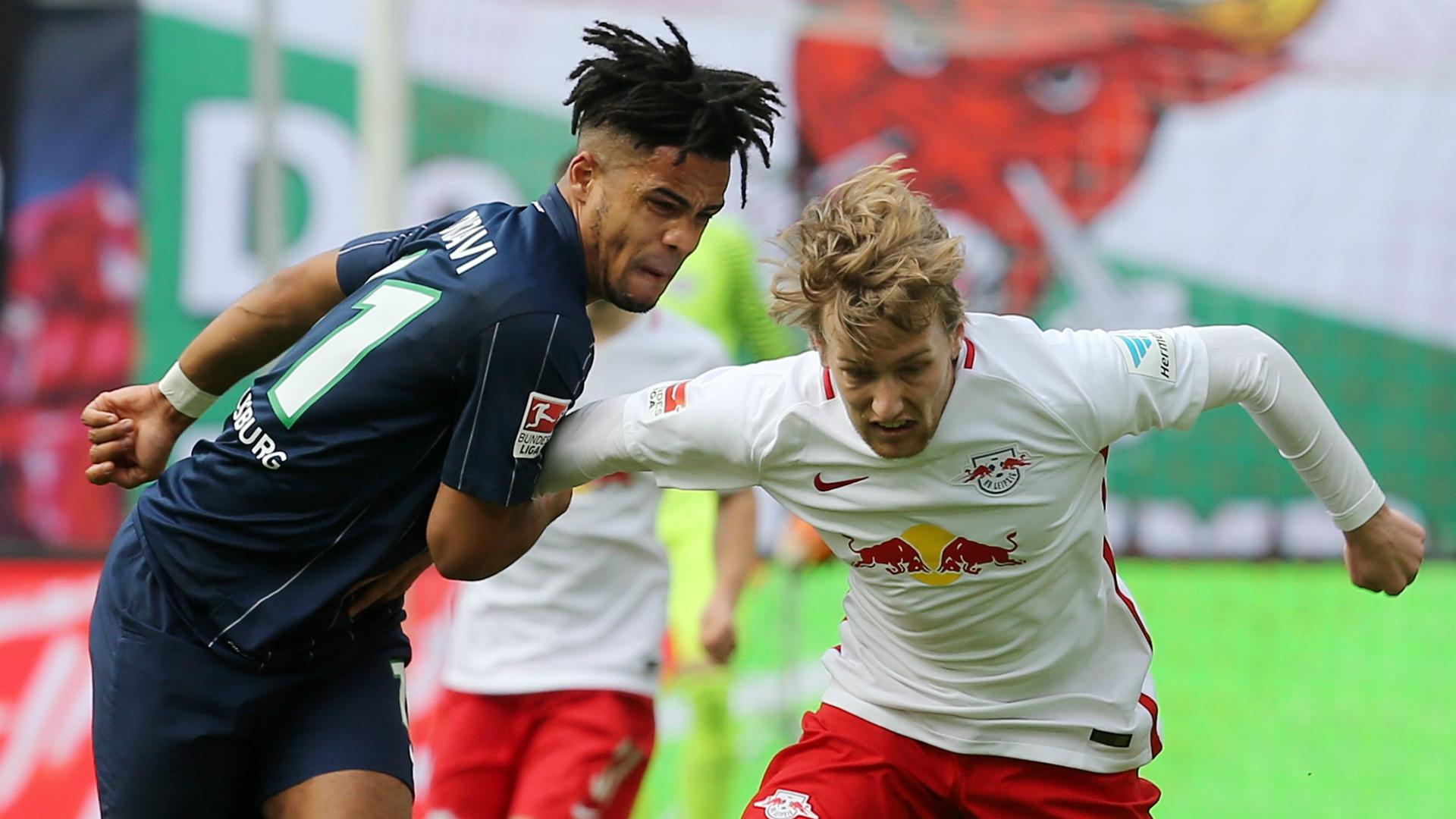 Emil Forsberg RB Leipzig Wolfsburg Bundesliga